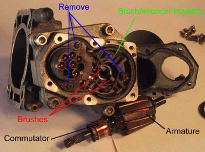 Reconditioning BMW 750il throttle assemblies