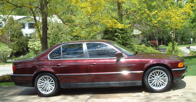 e38 bmw 7-series information and links, Wiring diagram
