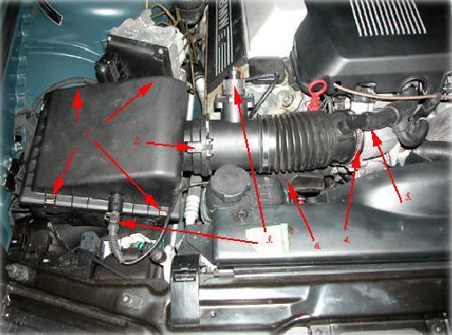 E38 BMW 740i/iL M62 Intake Manifold Removal