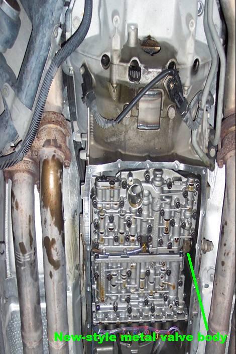 как проверить уровень масло в акпп BMW e53